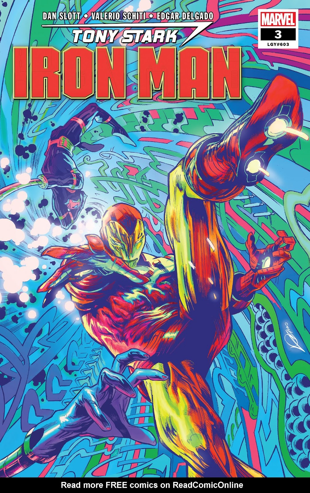 Read online Tony Stark: Iron Man comic -  Issue #3 - 1