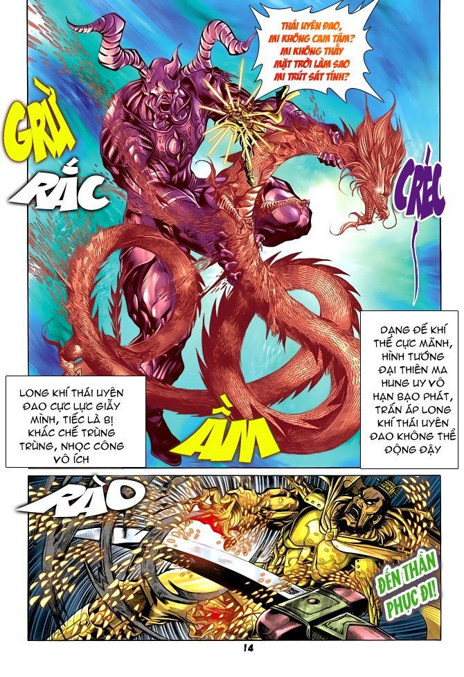 Đại Đường Uy Long chapter 53 trang 14