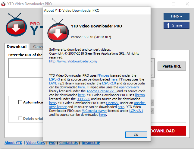 PHtechtools: YouTube Video Downloader PRO (YTD) 5 9 10 3 Portable