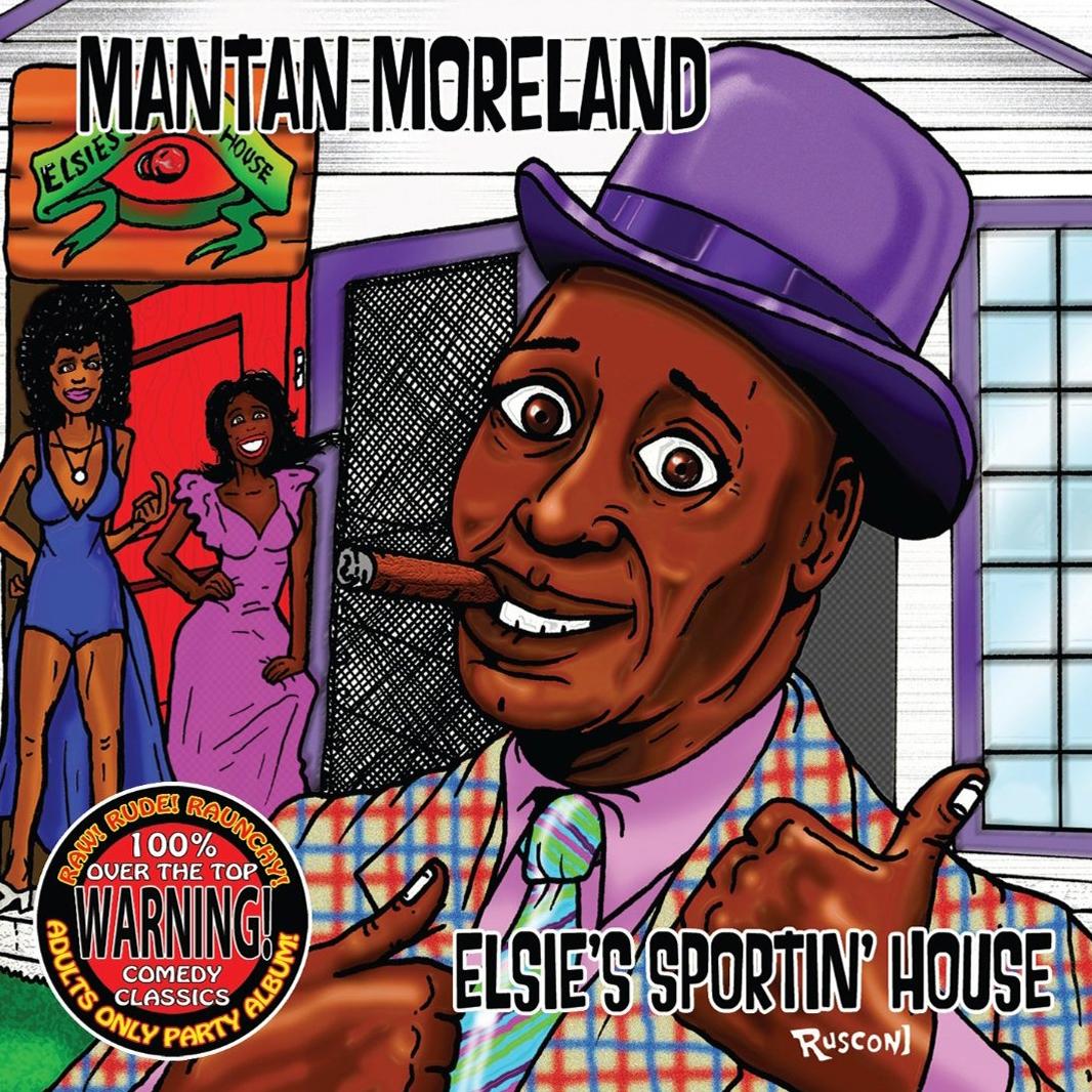 Vintage Stand-up Comedy: Mantan Moreland - Elsie's Sportin' House 1971