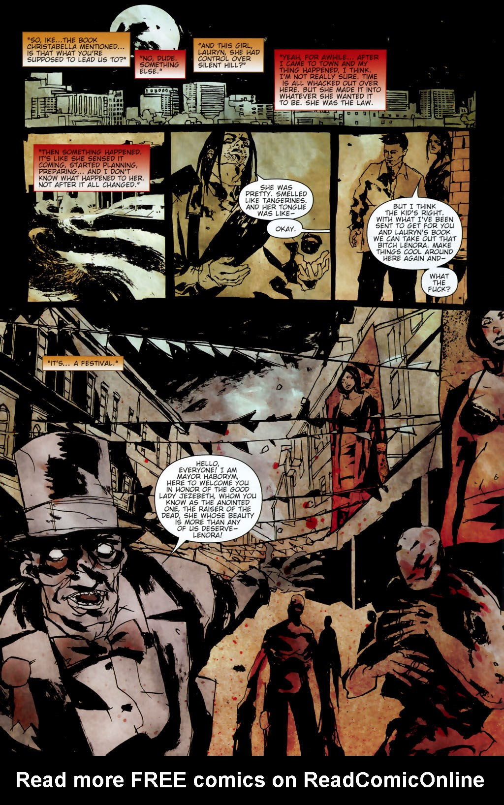 Read online Silent Hill: Dead/Alive comic -  Issue #3 - 14