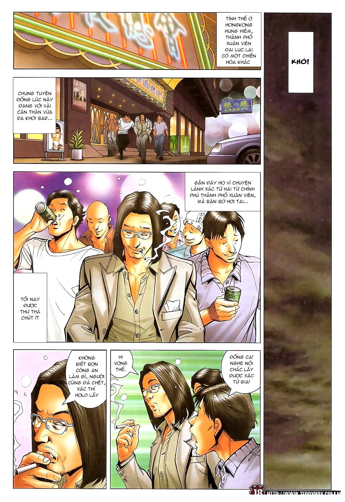 Người Trong Giang Hồ - Ngũ Hổ qui thiên - Chapter 1717: Đàm phán siêu cấp 3 - Pic 17