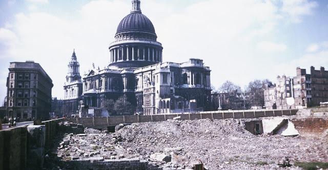 The Blitz Dönemi Londra II. Dünya Savaşı