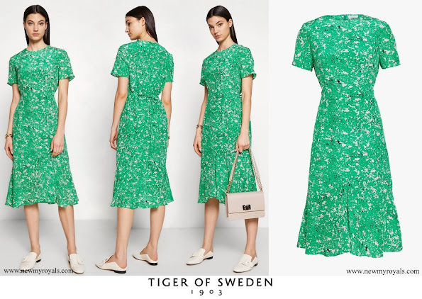 Crown Princess Victoria wore Tiger of Sweden Jacenia dress