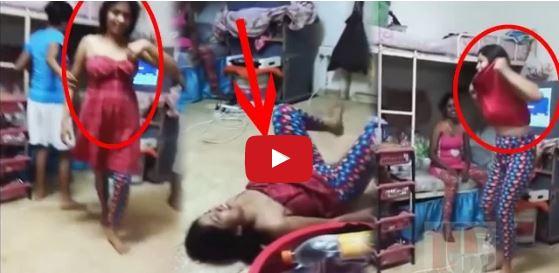 Watch Drunken Hostel Girls Enjoying In Room