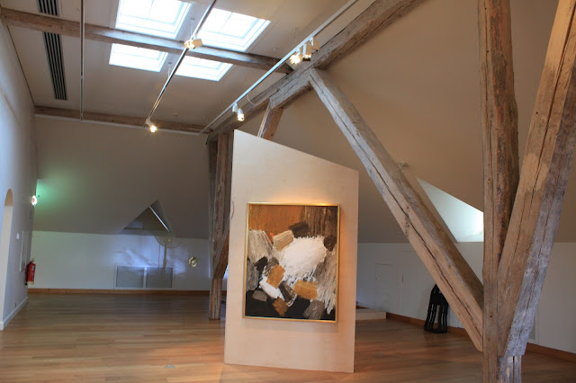 Airy space for displaying artwork at The Culture House Museum in Reykavik, Iceland.