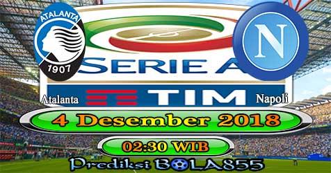 Prediksi Bola855 Atalanta vs Napoli 4 Desember 2018