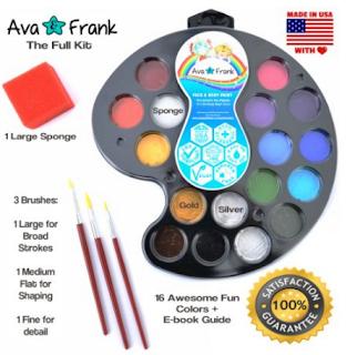 Ava & Frank Face Paint Palette