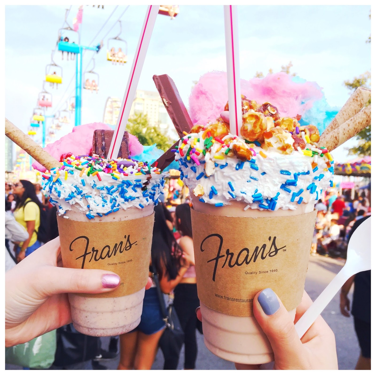 frans diner milkshakes decadent dessert toronto best places
