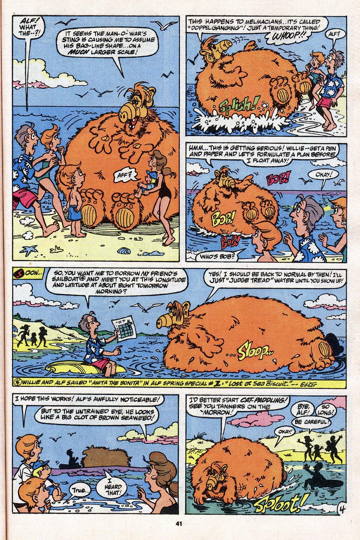 Read online ALF comic -  Issue # _Annual 3 - 37