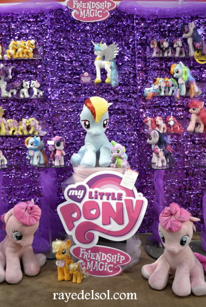 Aurora MLP Plush Line-up at NY Toy Fair 2015