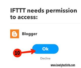 auto blogging ki setup in blogger