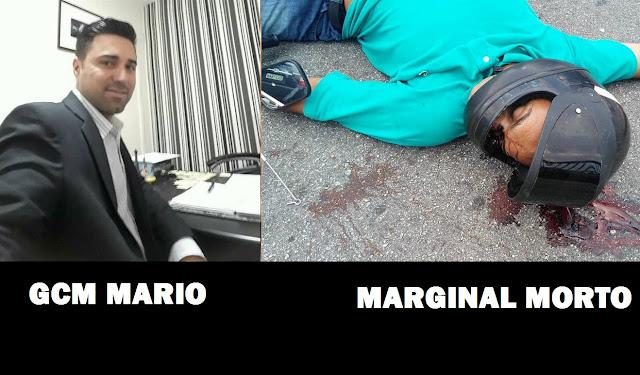 GCM de Embu-Guaçu morre em troca de tiros um marginal acabou morto outro se evadiu