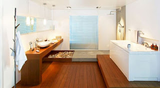 lantai kayu mandi kamar