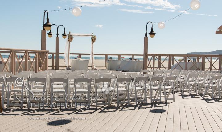 The Wedding Ceremony Was At Beautiful Breakers Beach On North Island Base Coronado