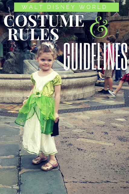 Disney's Costume Rules and Guidelines