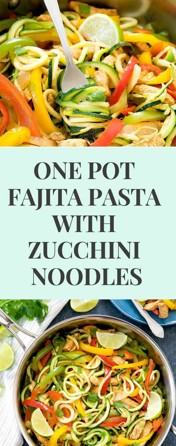 Zucchini Noodles In A Low Carb
