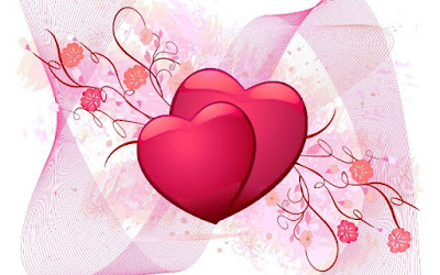 Gambar Wallpaper Love Pink Romantis