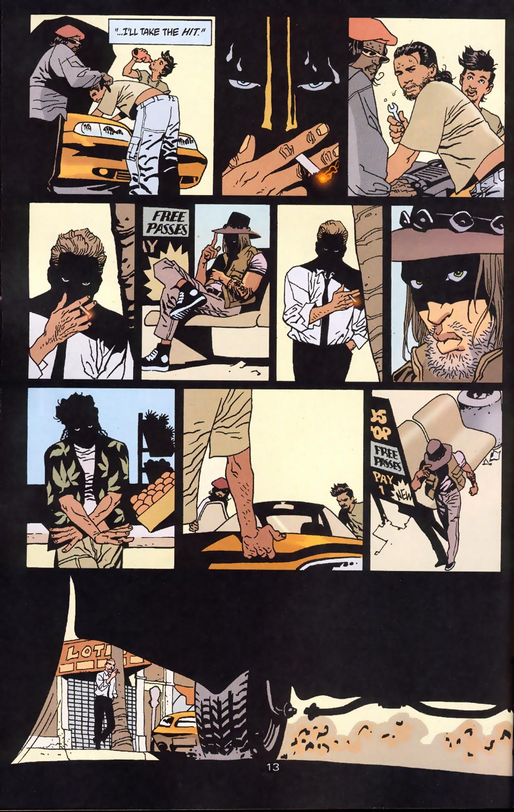 Read online 100 Bullets comic -  Issue #39 - 15