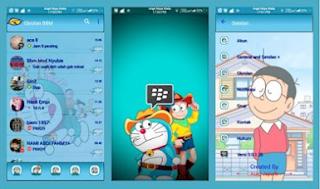 BBM Doraemon Apk Terbaru