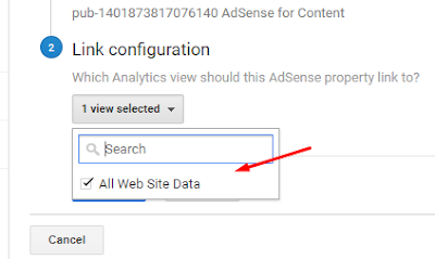 how to link google adsense to analytics