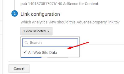 how to link google adsense to analytics