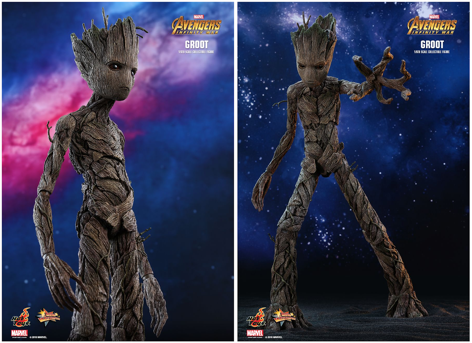 Marvel Legends ML Guardians Of The Galaxy Kid /& Baby GROOT Cast 1:12 Scale Set