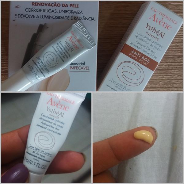produtos usados na pele durante o pré-peeling: Ysthéal Intense da Avène
