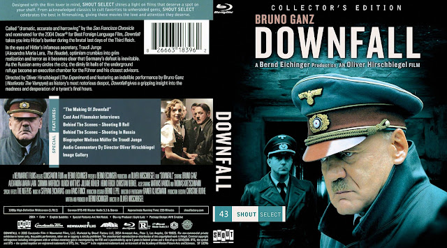 Downfall (Der Untergang) Bluray Cover