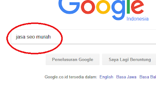 cek posisi keyword di search engine google