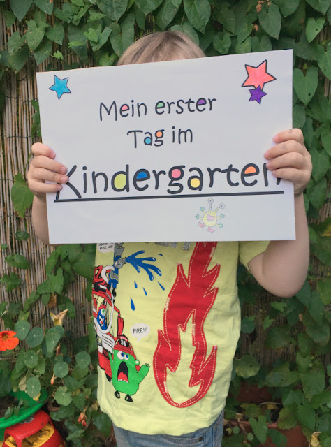Drittes Kind - Erster Tag im Kindergarten