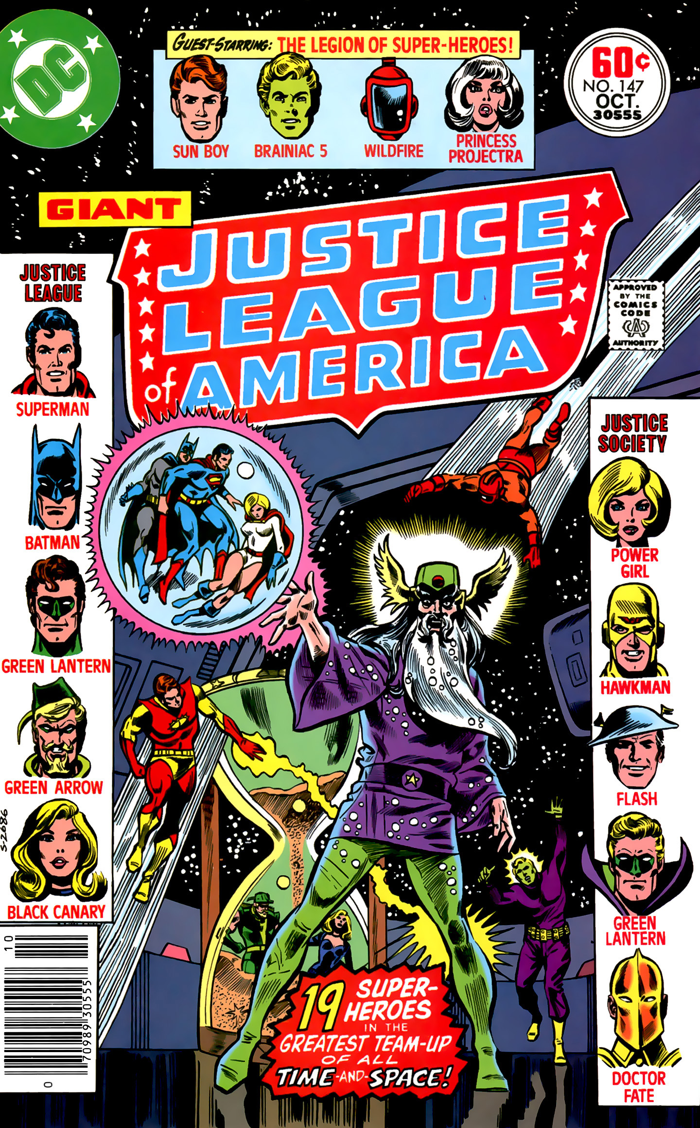 Justice League of America (1960) 147 Page 1