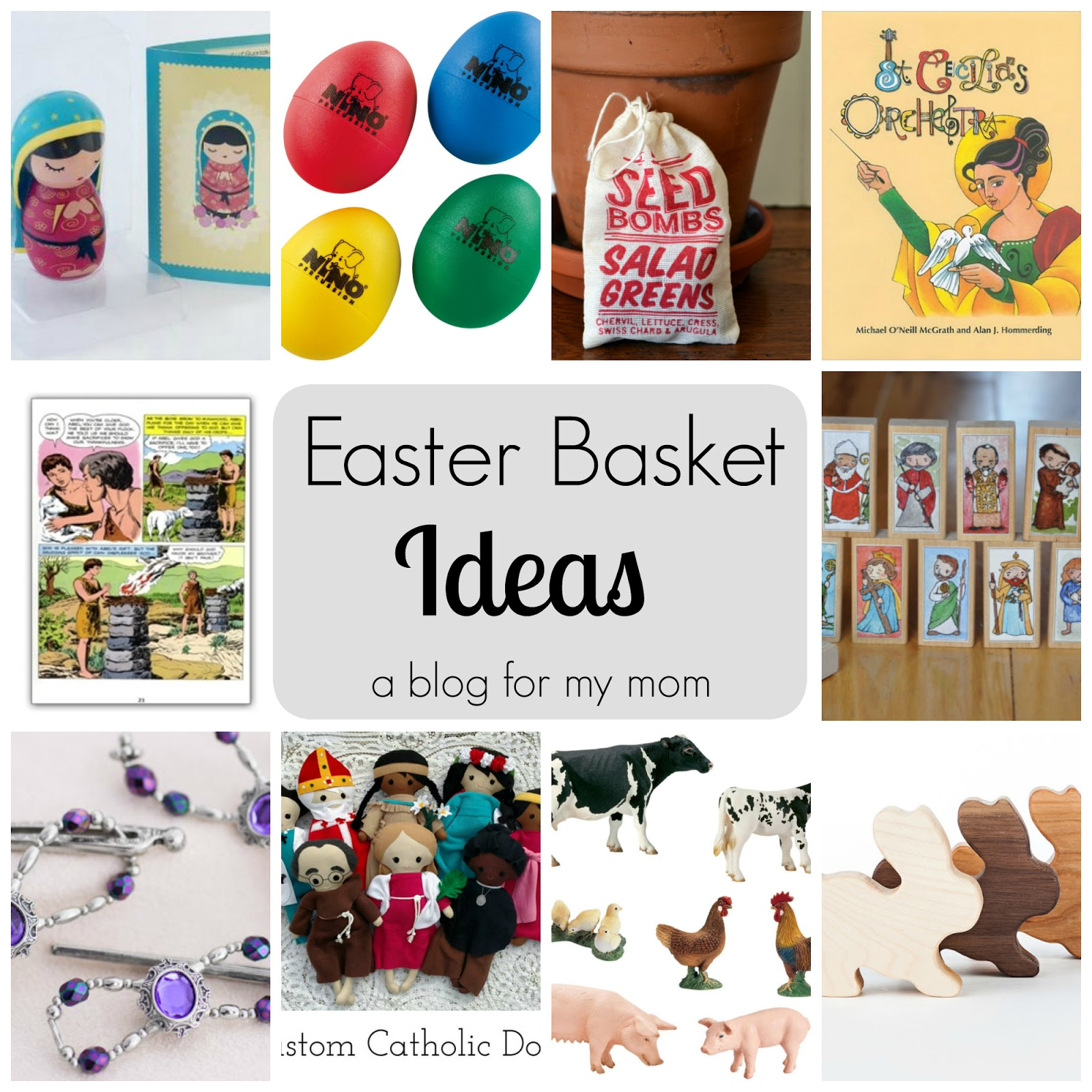 A blog for my mom easter basket ideas and a giveaway growing up we got plastic grass and a whole lot of candy i dont know why we got so much candy except that we really loved it and i think it might negle Images