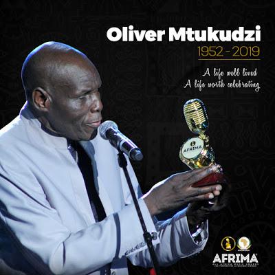 AFRIMA Mourns Zimbabwe Afro-jazz Star, Oliver Mtukudzi