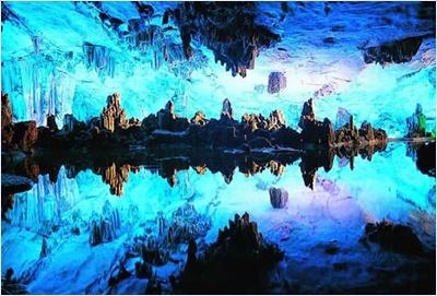 วังแก้วพญามังกร (Crystal Palace of the Dragon King) - ถ้ำขลุ่ยอ้อ (Reed Flute Cave)