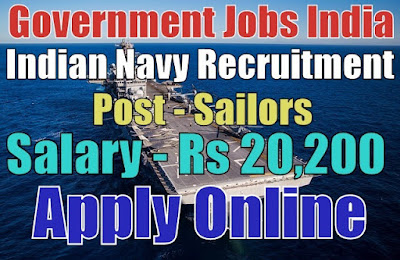 Indian Navy SSR Recruitment 2017 for Sailors