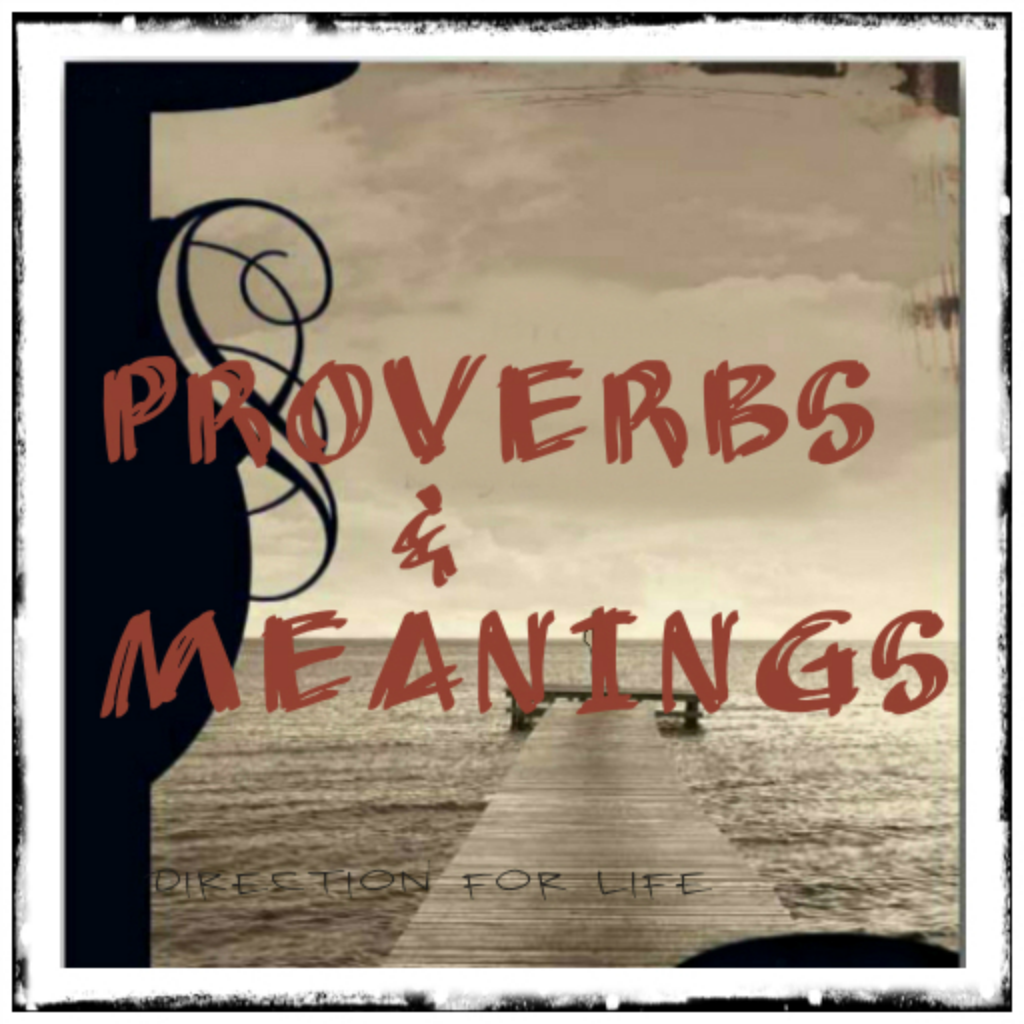 Islet Developers: English Proverbs and Meanings
