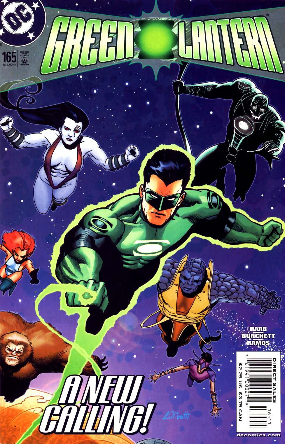 Green Lantern (1990) 165 Page 1