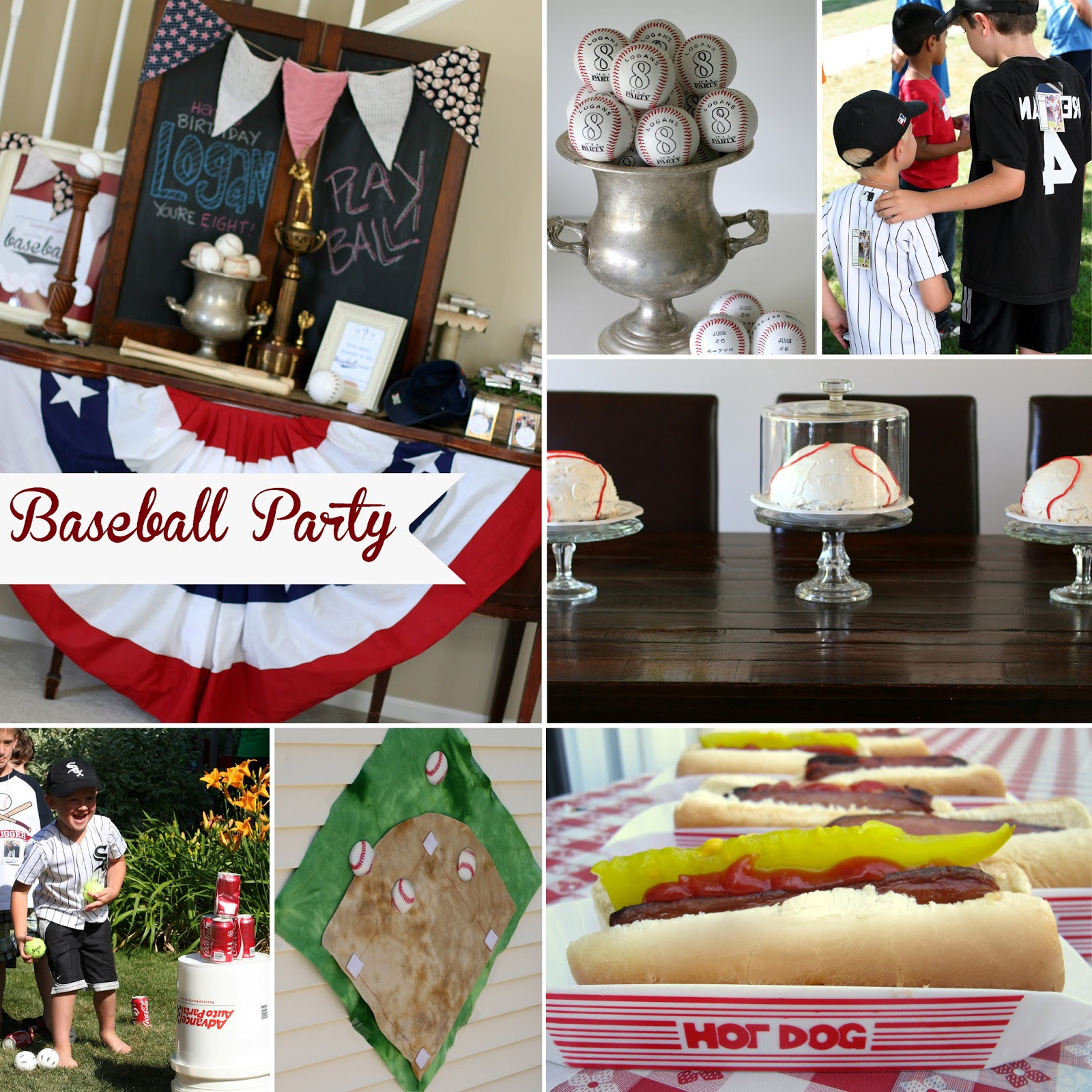 1 Year Birthday Decoration Of Notable Nest Baseball Party Invitations