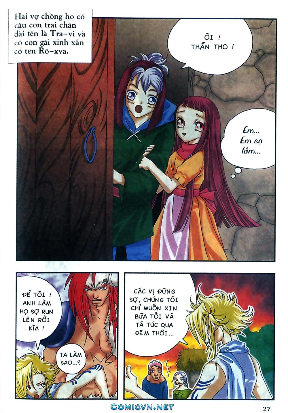 Thần thoại Bắc Âu - Chapter 18: Thần sấm sét - Pic 28
