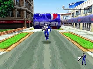 Gambar terkait dari Game Pepsiman