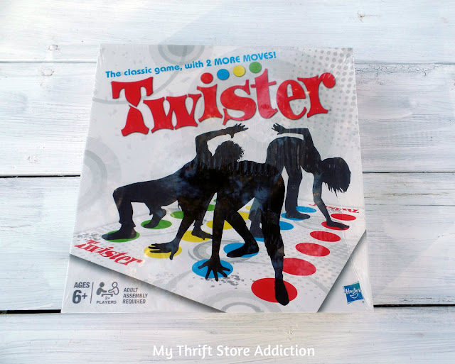thrift store Twister game