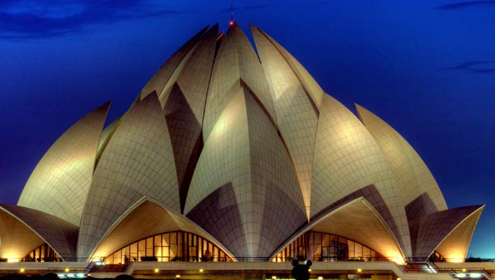 Lotus Temple The Symbol Of Peace And Prosperity Delhi India