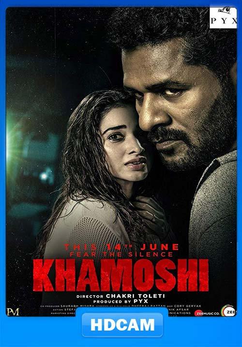 Khamoshi 2019 720p PreDVD Rip x264 | 480p 300MB | 100MB HEVC