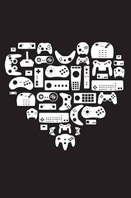 game controllers that make a heart shape