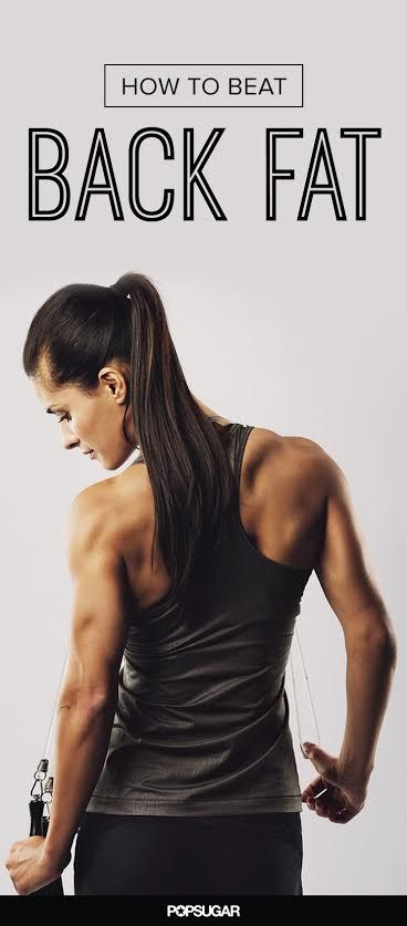 How to Win in the Battle Against Back Fat