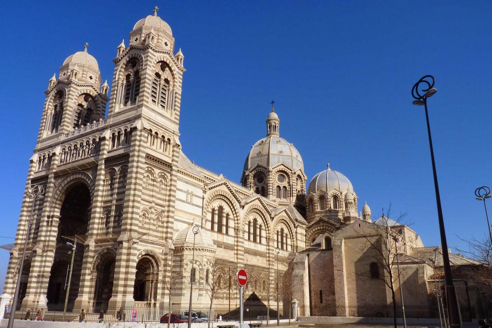 Catedral bizantina Santa María la Mayor de Marsella.