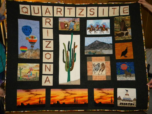 Arizona Quartzsite Rock Show