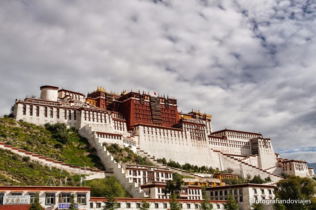 Palacio de Potala en Lhasa Tibet