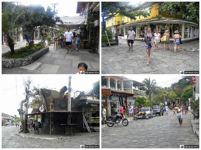 Rua das Pedras e Centro Búzios